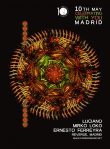 Celebrating With You Madrid
