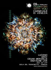 Cadenza 10 years - Carnevale di Venezia